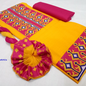 Women Handloom Cotton Dress Material